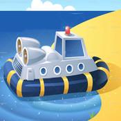 Ocean Wonders - Hovercraft Racing Game