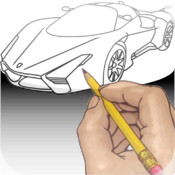 How To Draw: Super Cars PRO for iPhone