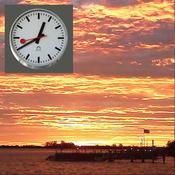 Sunrise and Sunset Alarm & Dawn and Dusk & Flash Light & Weather Pro
