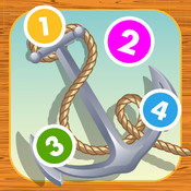 Ahoy sailing boat! Counting game for children: learn to count numbers 1-10