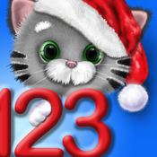 Cool Math Kitty Cat 123 – Learn to Count & Write Numbers - Christmas Edition
