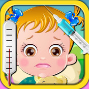 Holiday Sick Baby & Cry & Sleep - Need Your Care & Family Doctor Office