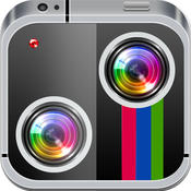 Twin Split! Clone your-self pic with instant blend cam-era photo fx clone yourself split