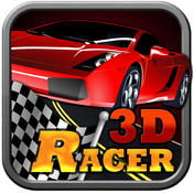 `` Airbone Speed Racer Pro - Best 3D Racing Road Games racer racing road