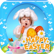 Bunny Easter Pictures Frame FREE