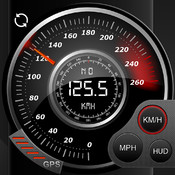 Speedo GPS Speed Tracker, Car Speedometer, Cycle Computer, Trip Computer, Route Tracking, HUD scan from computer