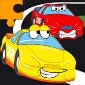 Cars Jigsaw Puzzles - Animated Kids Jigsaw Puzzles with fun Car, Truck And Vehicle Cartoons - By Apps Kids Love, LLC kids online puzzles