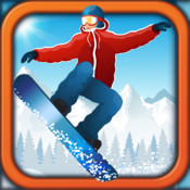 Snowboard Extreme Race - Cross Country Off Piste Chase Game 3D