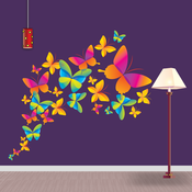Colorful Wall Designs - Creative and Decorative Colorful Home Wall Art Design Ideas, Pictures, Remodel and Decor wall metal art