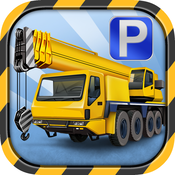 Crane Parking Simulator - 3D Construction Driving School Simulator Transport Games simulator