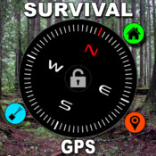 Military Survival GPS - Land Nav Compass, Doomsday Prepper Tactical GPRS Tool and Altimeter