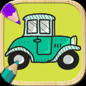 Paint cars. Game to paint and color cars for free. Cars coloring book. Color cars with your finger. Entertainment games for boys and girls top cars