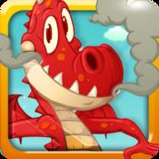 On Fire Dragon Jump
