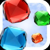 A Frozen Gems Doigt - Fun Match-3 Jewel Game-s Free