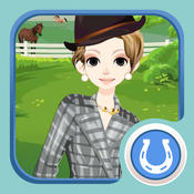 Horse and Fashion - Dress up and make up game for kids who love horse games