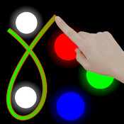 Neon Blok Premium : Draw The Line Tile Adventures