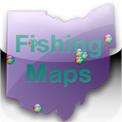 Ohio, Michigan, Pennsylvania Fishing Maps – 32K Maps