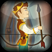 Medieval Prince Bow and Arrow Shooting Game - Hit the Target Challenge