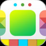 Colored Dock And Status Bar - Luma Pro