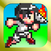 Dash Runner:Simple high speed running action game!To control the dash and jump,and able to run in one hand a torch. dash