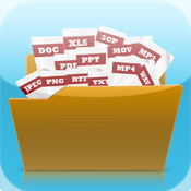 Folder Plus - Read PDF and document files and Play audio and video file on iPhone and iPad