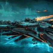 Space Battle Ship Racer - Nitro Iron Boat Galaxy saga sea warfare
