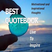 Best Quotes Book.Sharing motivation quotes as greeting cards