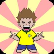 Emoji World Soccer Fan emoticon facebook messenger