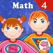4th Grade Math : Common Core State Standards Education Enrichment Game.