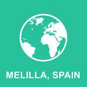 Melilla, Spain Offline Map : For Travel