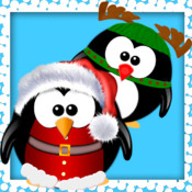 Move The Penguin - word game ( It`s christmas )