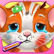 My Newborn Pet Doctor, Baby Pet Care & Dress Up, Cute Puppy & Newborn Kitty Rescue & little animal Vet Care kids games for boys and girls