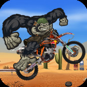 Gorilla Run PRO - Multiplayer Moto Race In a Fun Match fun run multiplayer race