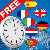 Multilingual speaking clock