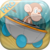 Spider Monkey Space Ride PRO - A Rocket Chimp Adventure into Space.