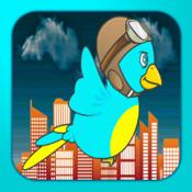 Baby Flappy Weather Bird - A tiny bird`s race through the storm