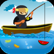 Deep Water Fruit Fishing Ninja Diamond Edition fruit ninja