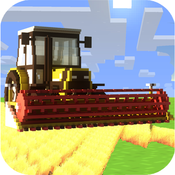 Little Pixel Farming Simulator 2015 - Usa Tractors, Harvester & Farm Mini Game agricultural societies