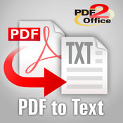 PDF to Text by PDF2Office - the PDF Converter