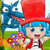 Little Miss Red (New Little Red Riding Hood Children eBook-App by Roxy the Star) red ants