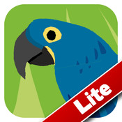 Animal Colours - Blue Lite (Interactive animal flashcards for babies and young kids)