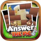 Answers The Pics : Baby Animal Trivia Pictures Puzzles