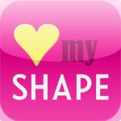 Love My SHAPE mountain shape