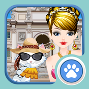 Cinderella and Cindy – Dress up sweet Cinderella and her cute little cat
