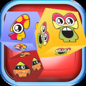 Fluffy Monster Face Match Wars PRO- Cool Puzzle Crush Frenzy