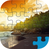 Landscape Jigsaw Pro - Time Killer Brain Teasers 4 Kids & Family