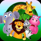 Jungle Animals m3 - Match Three Puzzle Game