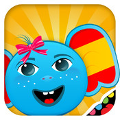 Spanish for Kids: Discover the World - children learn a language through play activities: puzzles, fun quizzes, cards and memory games