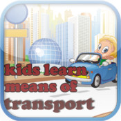 Kids learn means of transport