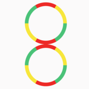 Crazy Circle Color Wheel - Swing Impossible Arrow Stick!